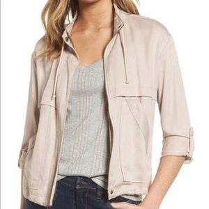 NEW BB Dakota Pink Utility Jacket Coat Medium